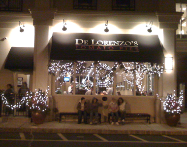 De Lorenzo's Tomato Pies Awning Sign