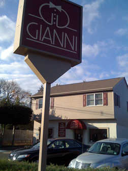 Gianni Formal Wear Sign