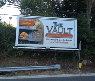 The Vault Billboard